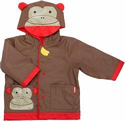 SKIP HOP Zoo Kabátik do dažďa - Opička / v.5-6