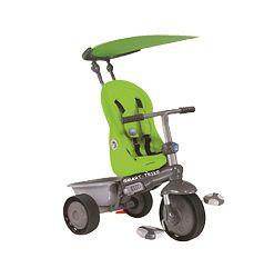 Smart Trike Recliner Stroller trojkolka 4v1 - zelená