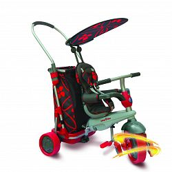 Smart Trike Trojkolka Smart & Go s nákupným vozíkom