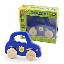 Studo Wood Polícia na kolesách