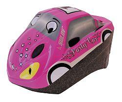 Sulov Detská prilba CAR, ružová - veľkosť M