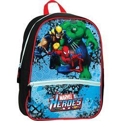 SunCe Junior batôžtek s predným vreckom, polstrovaný chrbát - Marvel Heroes