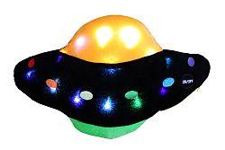 Svítící polštář Svietiaci vankúš UFO