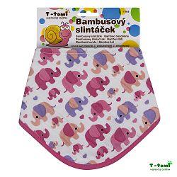 T-tomi Bambusový slintáčik, ružové slony