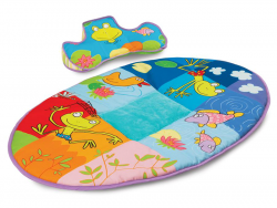 Taf Toys Hracia deka s vankúšikom pre hru na brušku
