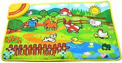Teddies Elektronická hracia podložka piánko Moje prvé zvieratká