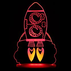 Think Gadgets Nočné svetielko Raketa