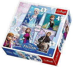 Trefl Puzzle Frozen 4 v 1