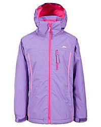 Trespass Dievčenská zimná bunda Tomboy - fialová, 122-128 cm