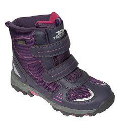Trespass Dievčenské členkové outdoorové topánky Giz Gaz - fialové, EUR 32