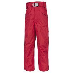 Trespass Dievčenské lyžiarske kalhoty Marvelous - červené, 140 cm