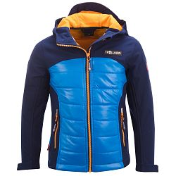 Trollkids Chlapčenská softshellová bunda Lysefjordom - modrá, 92 cm