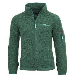 Trollkids Detská fleecová bunda Jondalen - tmavo zelená, 98 cm