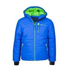 Trollkids Detská zimná bunda Hemsedal - modrá, 140 cm