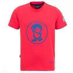 Trollkids Detské funkčné tričko Troll s UV 30+ - červené, 98 cm