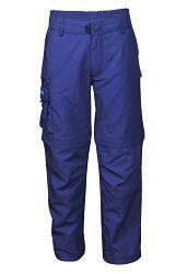 Trollkids Detské nohavice Oppland - modré, 152 cm