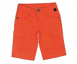 Tup-Tup Chlapčenské bermudy - oranžové, 128 cm