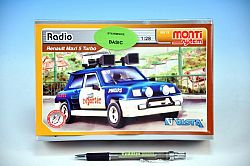 Vista Stavebnica Monti 13 Radio Renault 1:28