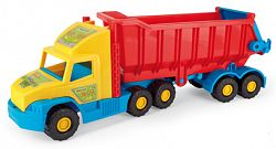 WADER Auto Super Truck sklápač plast 75 cm v sieťke