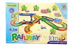WADER Kid Cars - Železnica s mestom 4,1 m