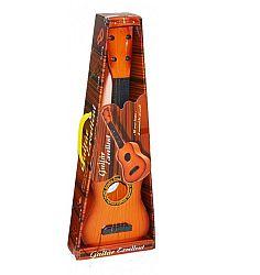 Wiky Akustická gitara s trsátkom pre malých muzikantov - oranžová
