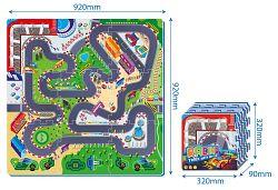 Wiky Mäkké bloky penové puzzle 32x32 cm, 9 ks
