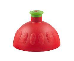 Zdravá lahev Náhradné kompletné viečko červená / zelená