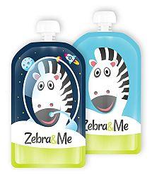 Zebra&Me Kapsička na detskú stravu 2 ks, kozmonaut