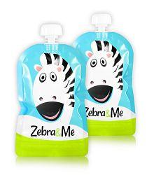 Zebra&Me Vrecko na detskú stravu, 2 ks