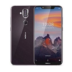 Nokia 8.1 64GB Dual Sim Iron  Purple