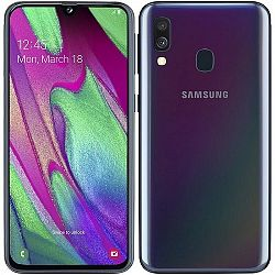 Samsung Galaxy A40 4GB/64GB Dual Sim Black