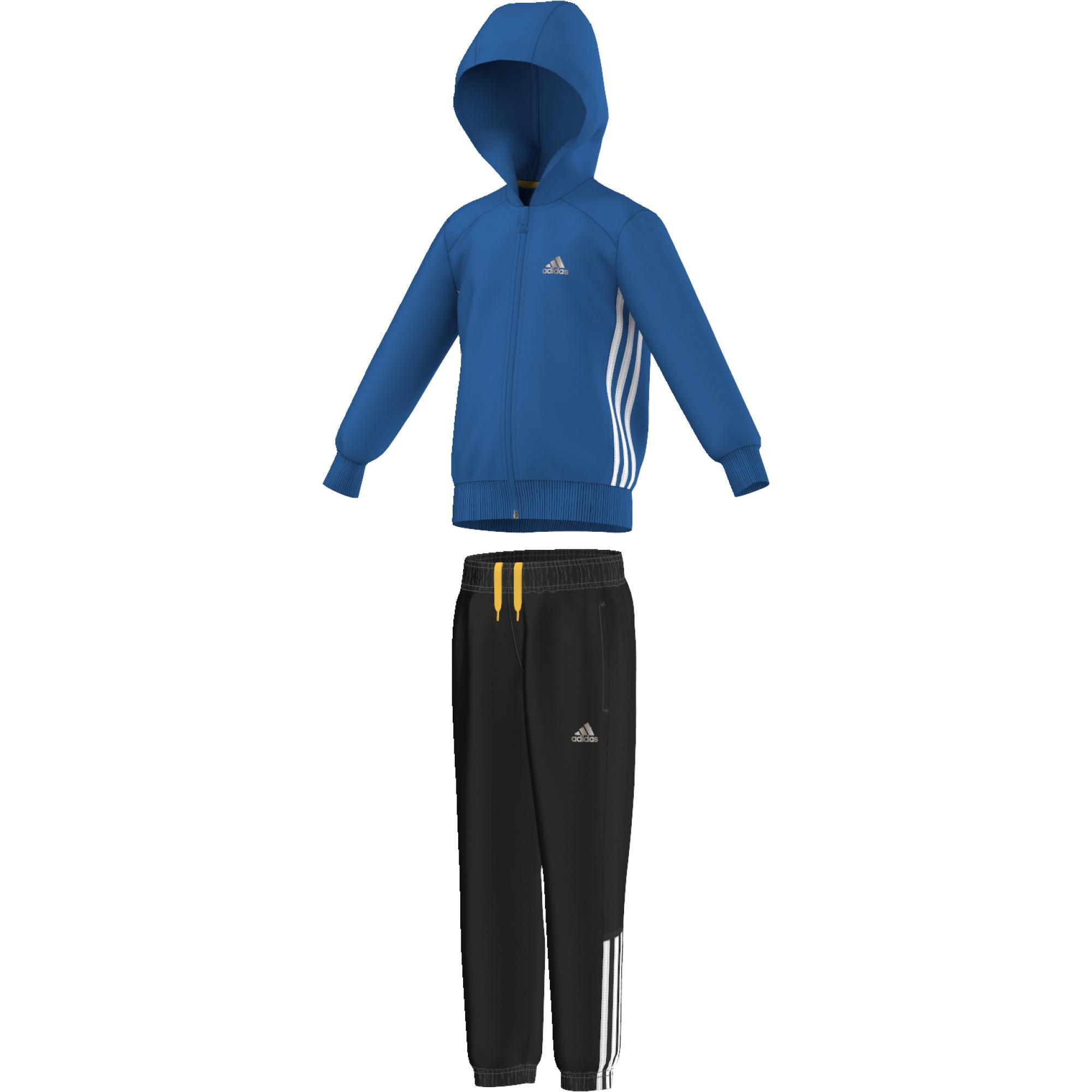 baa3c1b7e Adidas Chlapčenská tepláková súprava - modro-čierna, 104 cm ...