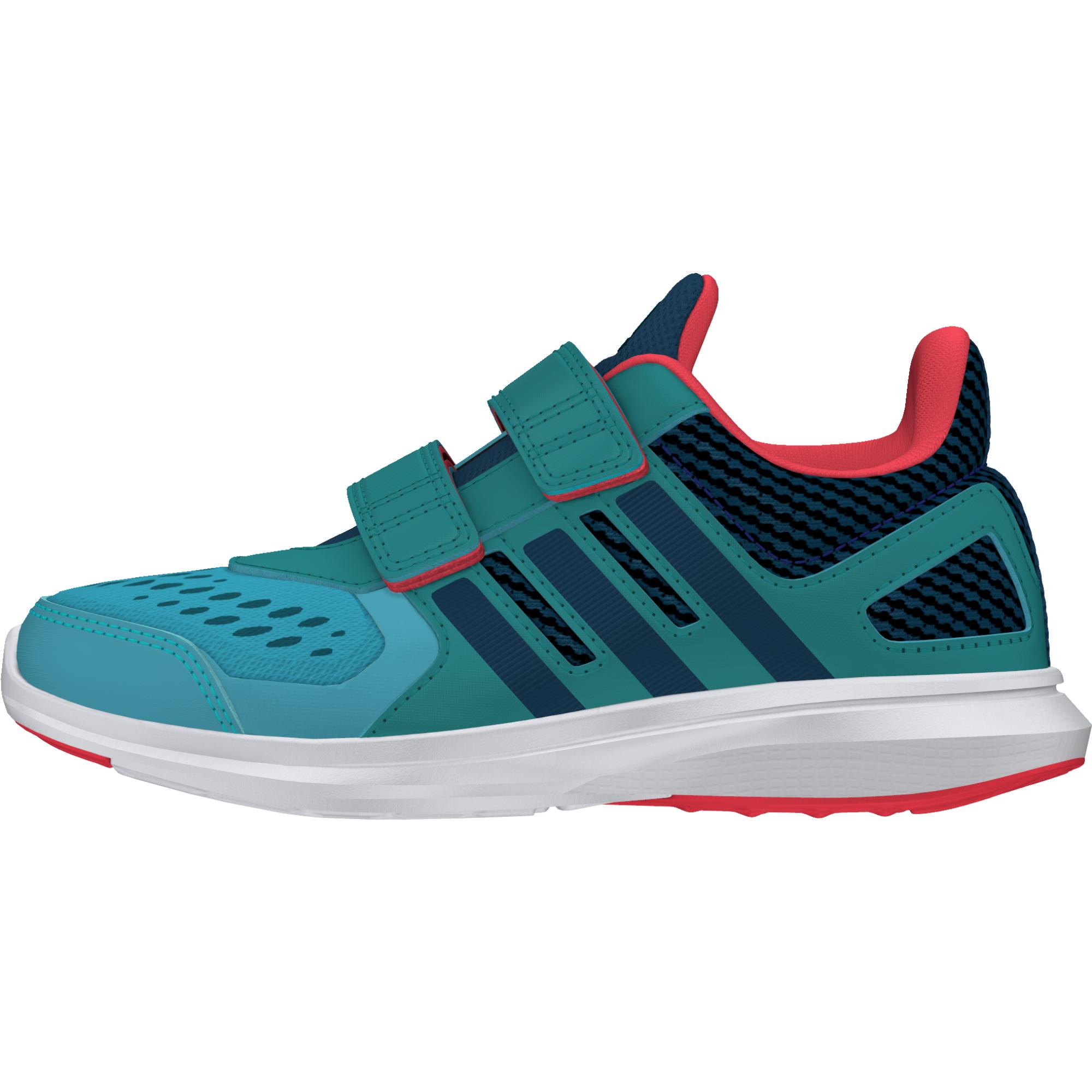 Adidas Chlapčenské bežecké tenisky Hyperfast - zeleno-modré f91e65a82c5