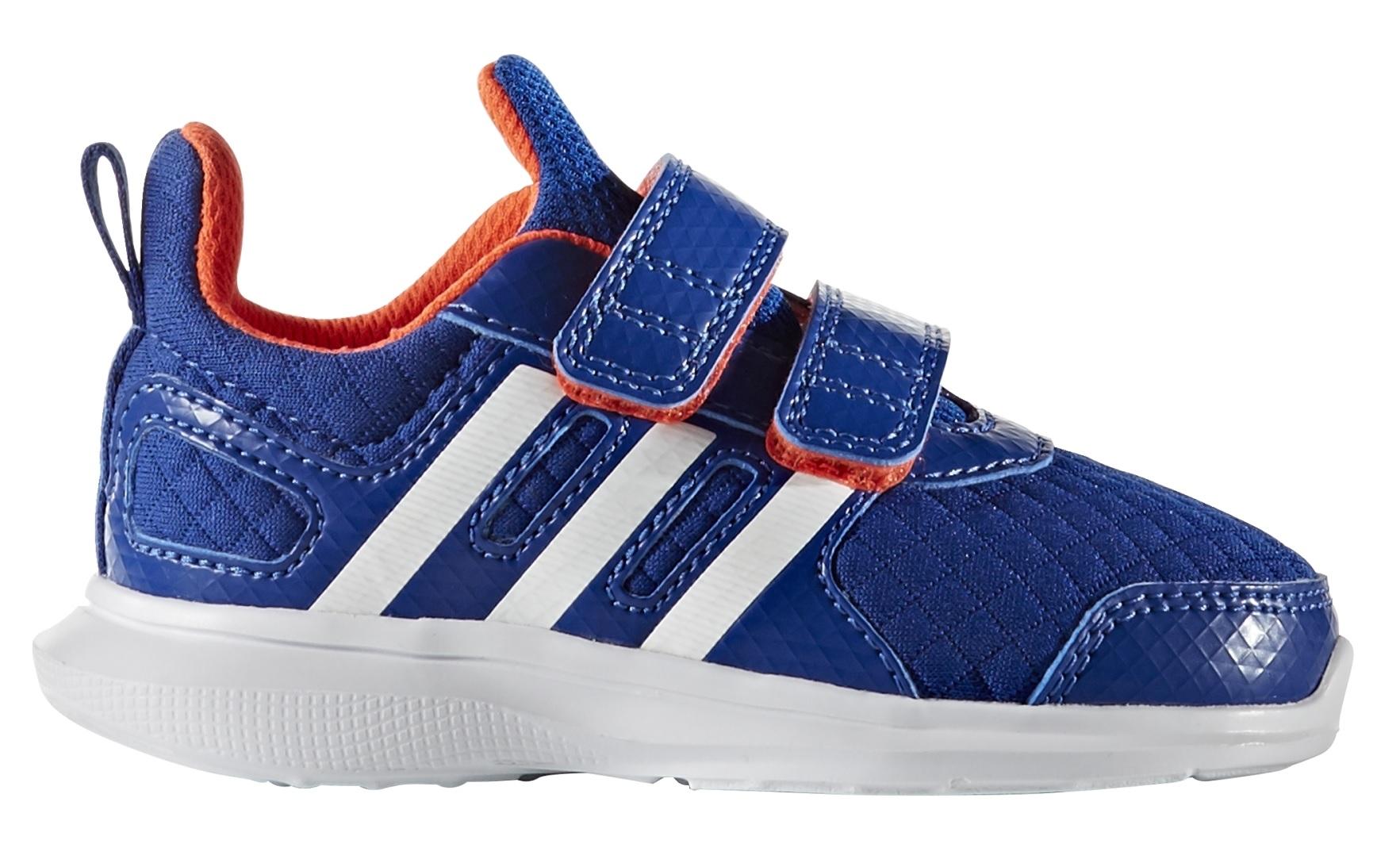 Adidas Chlapčenské tenisky Hyperfast 2.0 cf I - modré aba3b92023d
