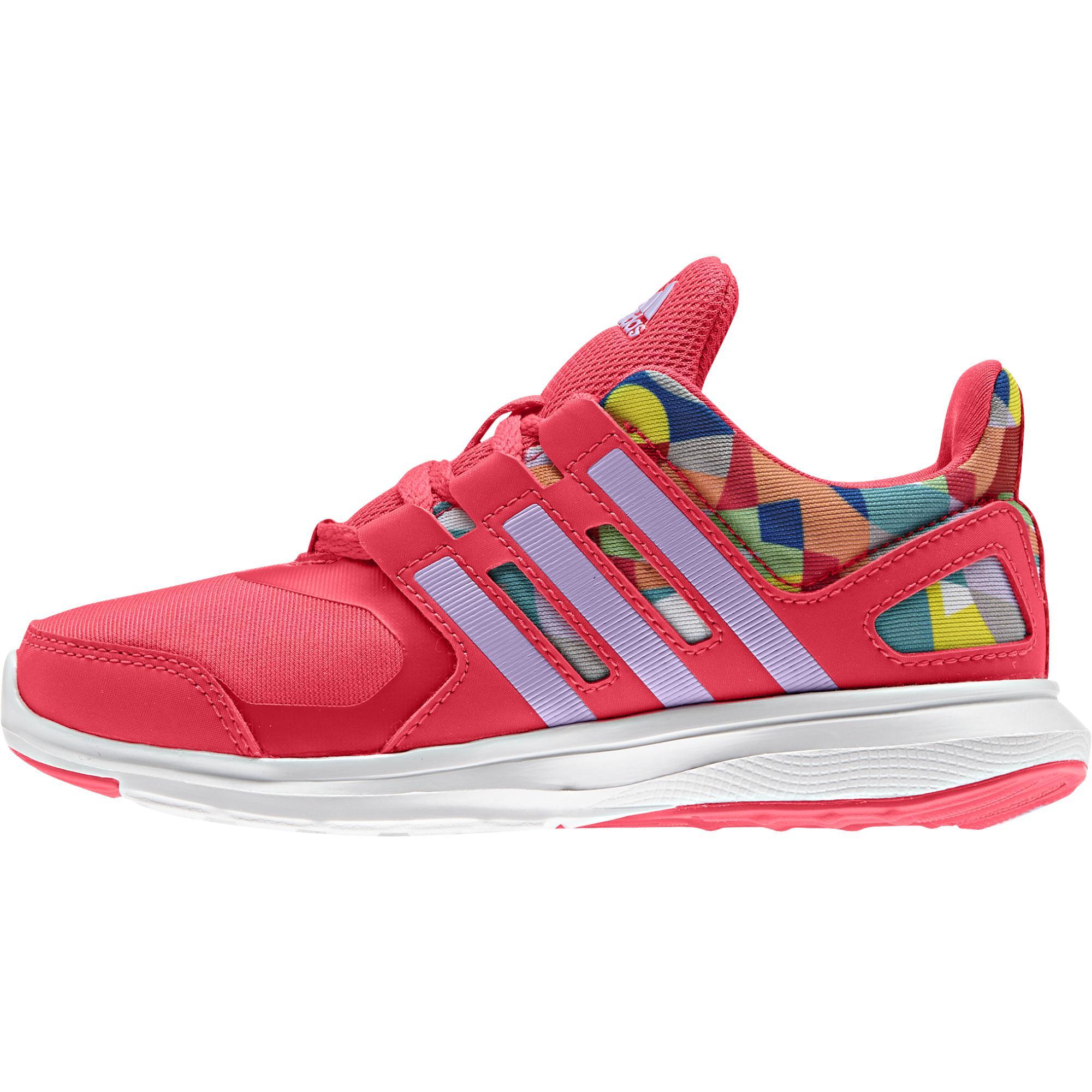 Adidas Dievčenské bežecké tenisky Hyperfast - ružové 4f8bf9a6cff