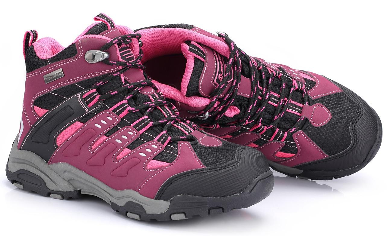 ALPINE PRO Dětská kotníková outdoorová obuv Balliol - fialovo-černá ... 0161b6523e0