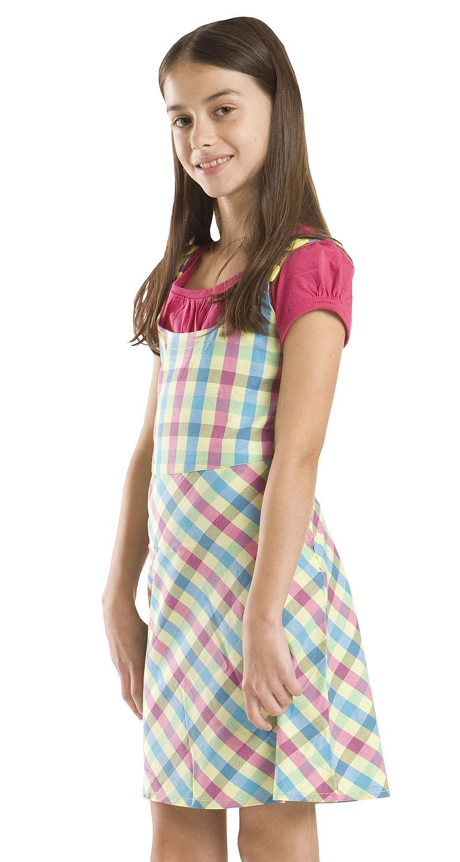 2c7747f8a640 ALPINE PRO Dievčenské vzorované šaty ORNELLA - farebné