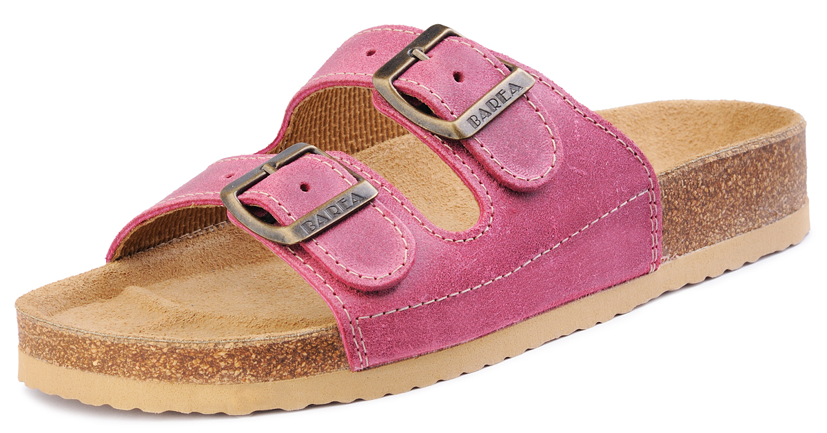 1303bf61e858 Barea Dievčenské ortopedické papuče - ružové