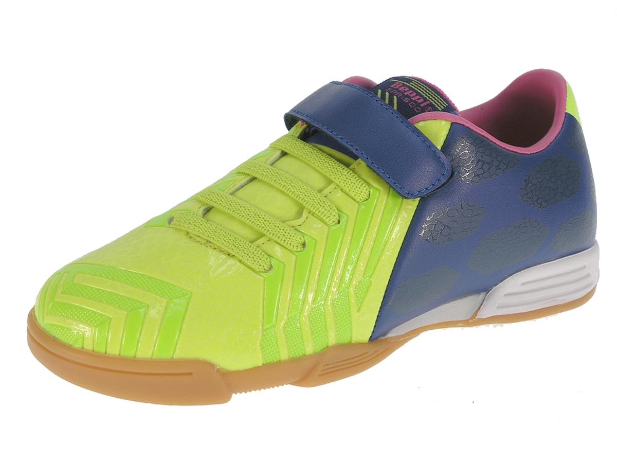 Beppi Chlapčenské sálové tenisky - zeleno-modré 996d7b3b573