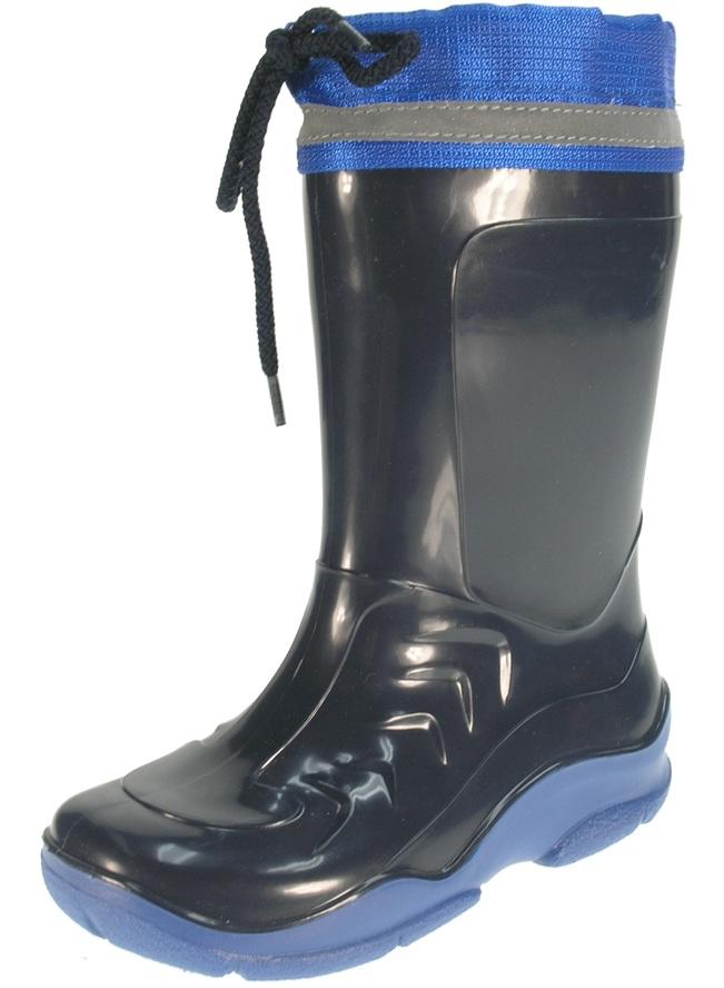 b3ee8797a626b Beppi Chlapčenské zateplené čižmy - tmavo modré, EUR 25 ...
