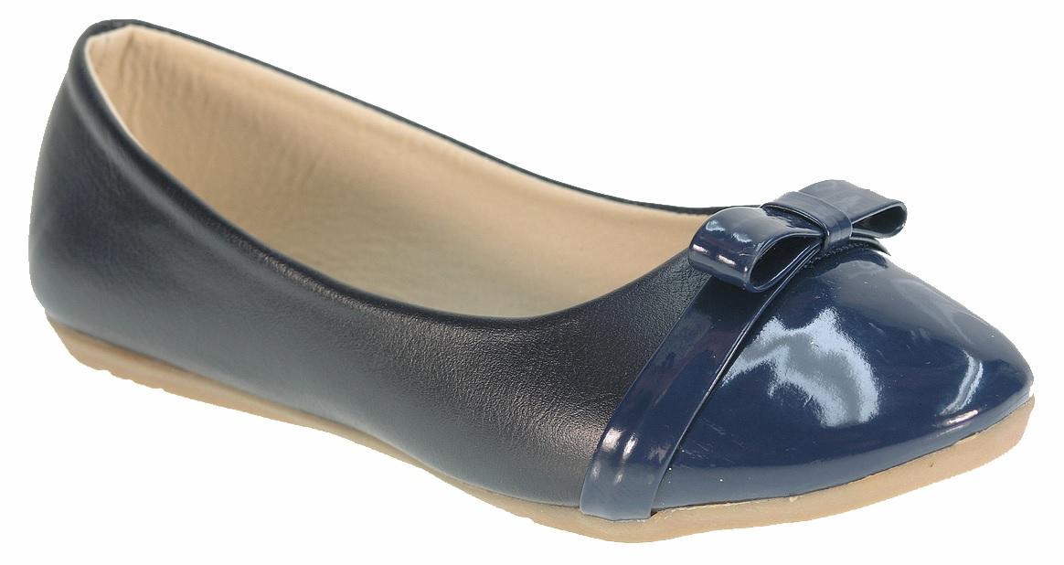 6157429aa Beppi Dievčenské balerínky s lakovanou špičkou - tmavo modré, EUR 29 ...
