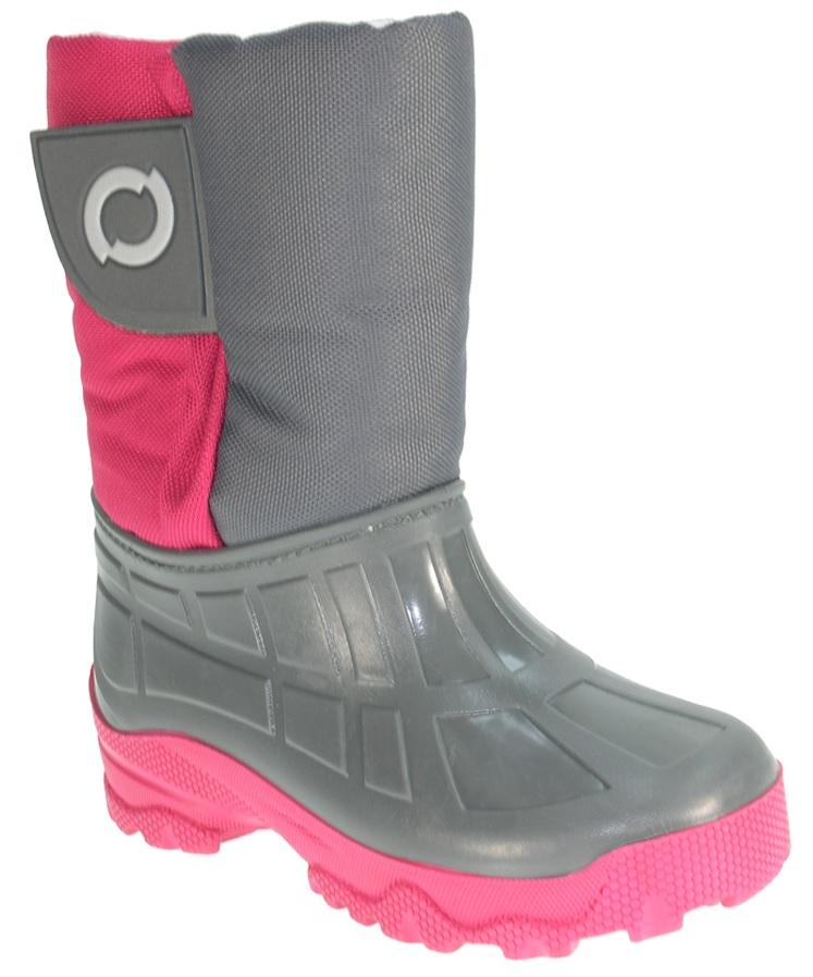 70aaf4a995b Beppi Dievčenské snehule - ružovo-šedé