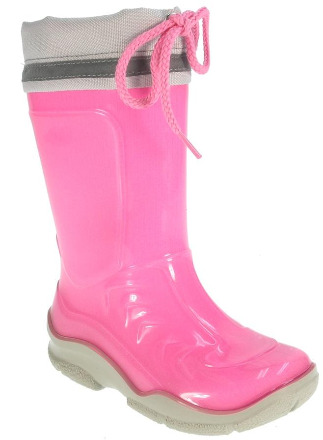 Beppi Dievčenské zateplené čižmy - ružové ab790a4b10e