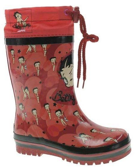 cf9b7472952e9 Beppi Dievčenské zateplené gumáky Betty Boop - červené, EUR 31 ...