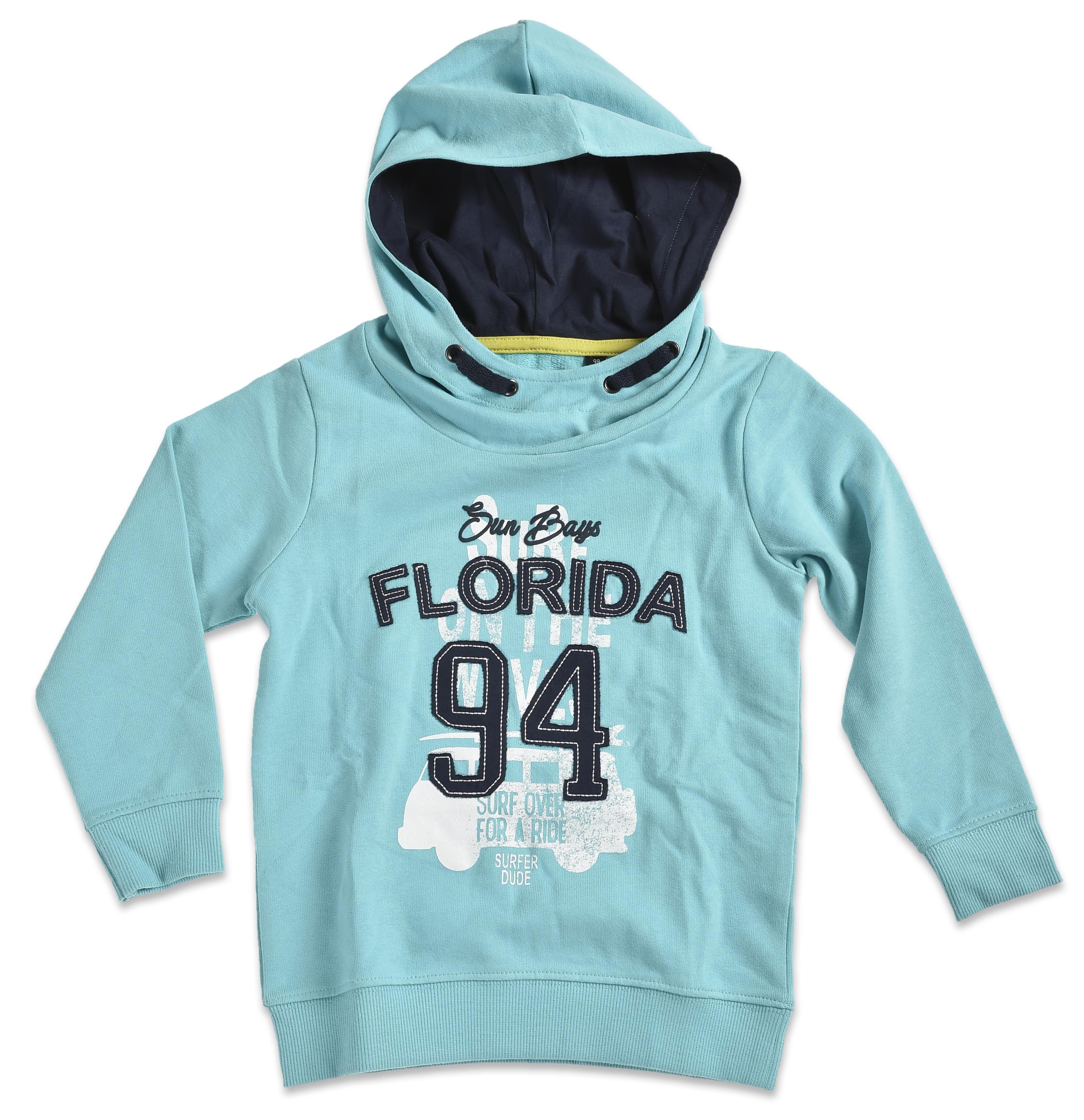 Blue Seven Chlapčenská mikina s kapucňou Florida - modrá 03e2b985f1c