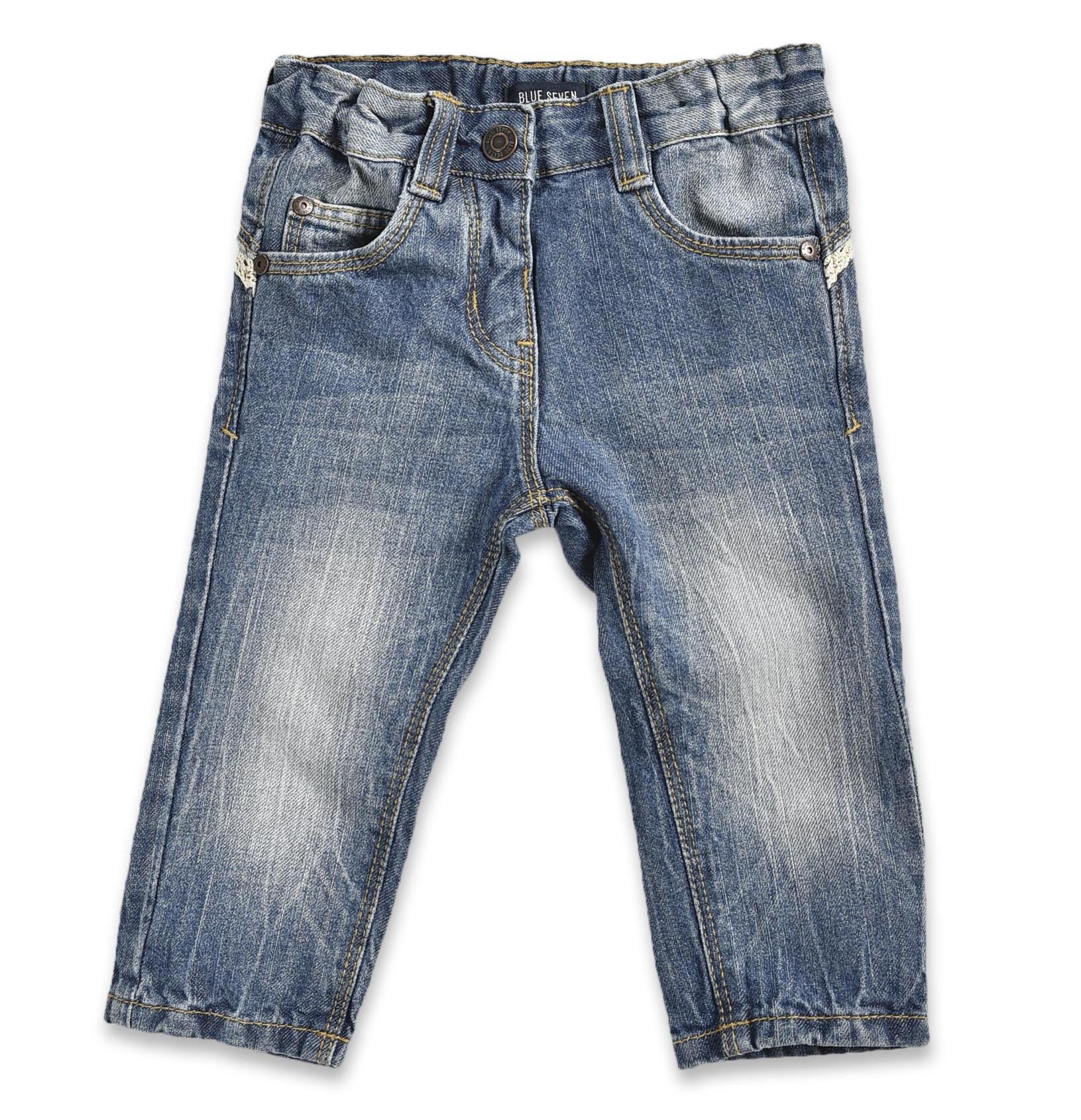 500f19458720 Blue Seven Dievčenské džínsové nohavice - modré