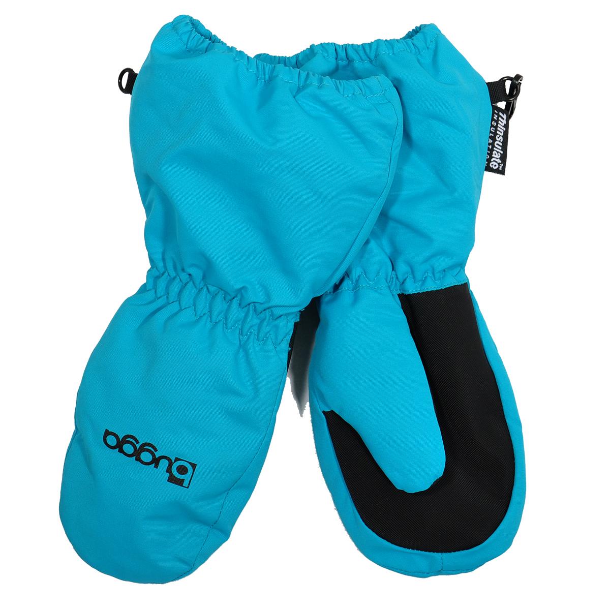 5ea945b8e Bugga Detské zimné rukavice s kožušinkou - tyrkysové, 98 cm ...