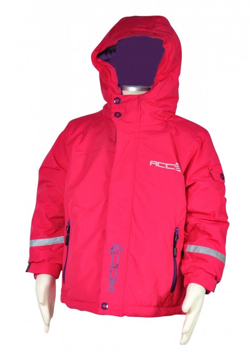 Bugga Dievčenská zimná lyžiarska bunda - ružová e41cef91c64