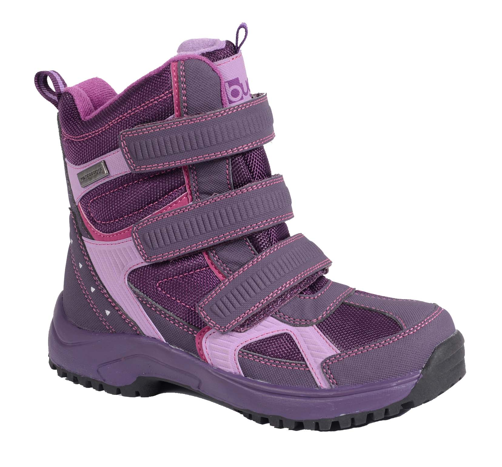 55910faf03a4b Bugga Dievčenské zimné topánky s membránou - fialové, EUR 30 ...