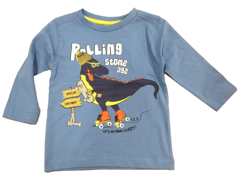 a50f9b4285631 Carodel Chlapčenské tričko s dinosaurom - modré, 110 cm ...